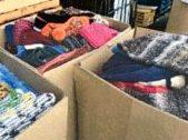 編み物ボランティアの活動報告が届きました。