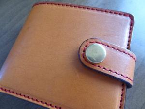 お財布を作ってもらいました。