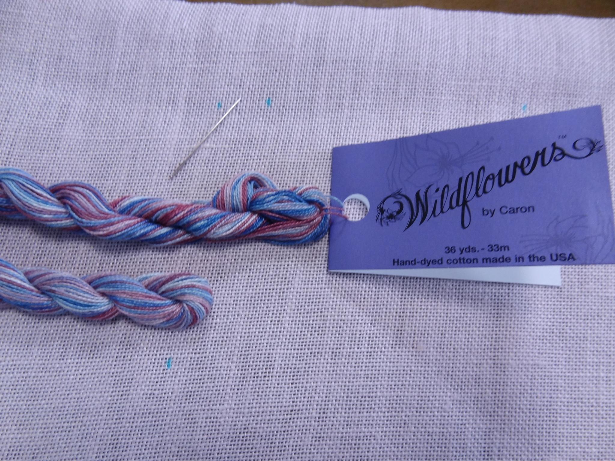 段染めの花糸