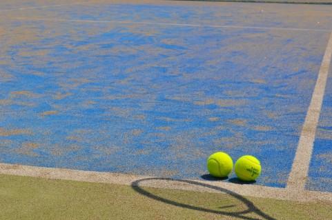 テニス知識のない親子の初めての試合