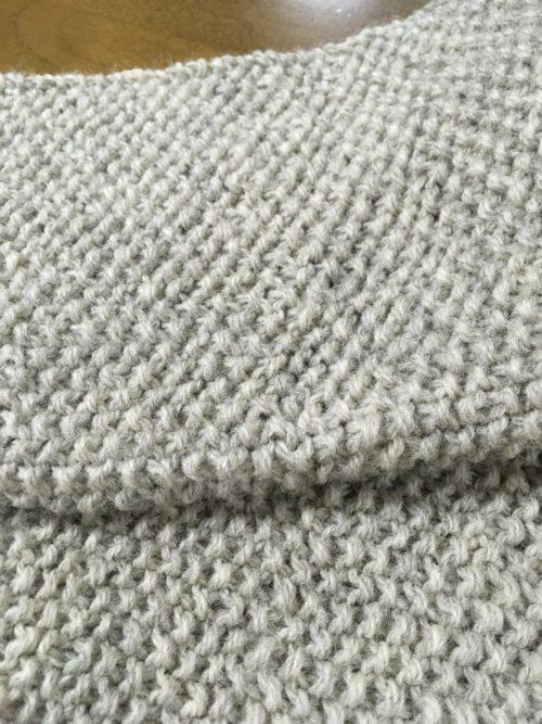 編み物DAYとなってしまいました。