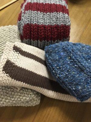 編み物ボランティアに今年も参加できました。