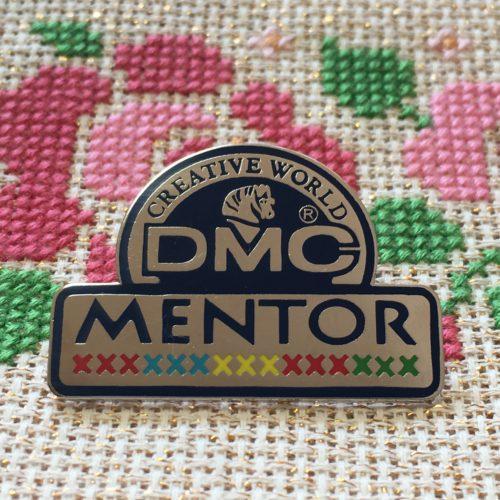 DMC刺繍メンタークラスの試験合格しました。