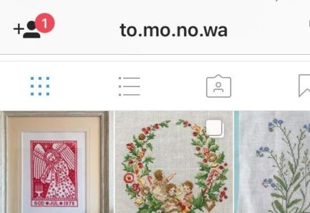 Instagramにクロスステッチの作品を載せたら、世界が広がりました。