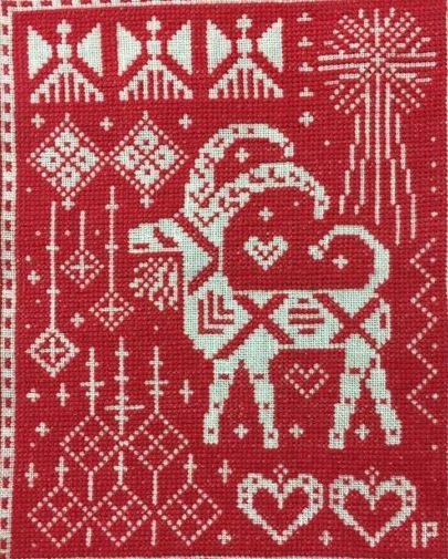 インガ・パルムグレンさんのクリスマス・カレンダーも遅れて完成。