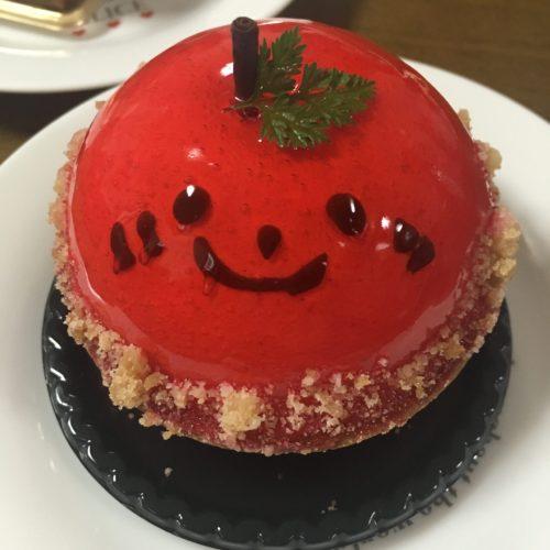 かわいいケーキに会いました。