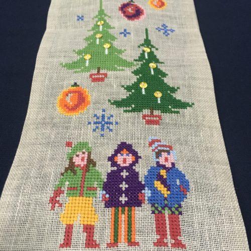 ミース・ブロッホさんの図案集より「メリークリスマス!」