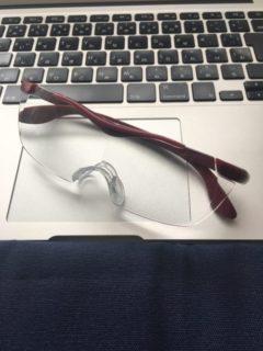メガネ型ルーペ導入で楽になった